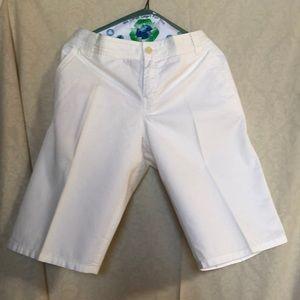 Tommy Bahama White Shorts size 10